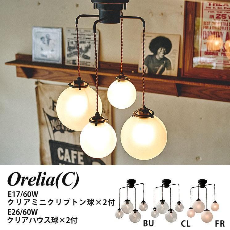 4灯 ペンダントライト 照明 Orelia C C オレリアC 電球付 LT-1946 インターフォルム