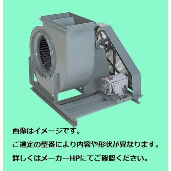 テラル シロッコファン CLF2-No.3.5-OB-D-e(3.7kW) (屋内仕様) (防振床置形)