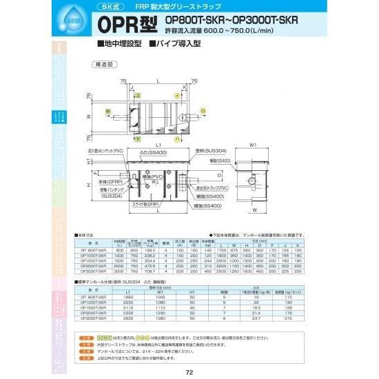 OPR型 OP1500T-SKR SS400