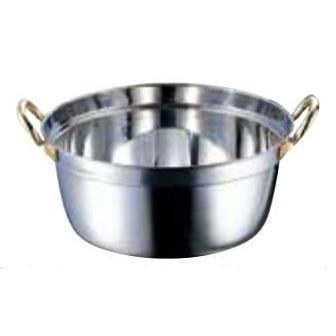18-8 クラッド段付鍋  36cm(内寸φ360×H162・約 10ℓ)
