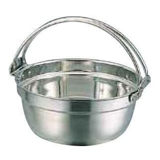 SW 18-8つる付料理鍋 45cm(内寸φ450×H190・24ℓ) SW 18-8つる付料理鍋 45cm(内寸φ450×H190・24ℓ) SW 18-8つる付料理鍋 45cm(内寸φ450×H190・24ℓ) e7f