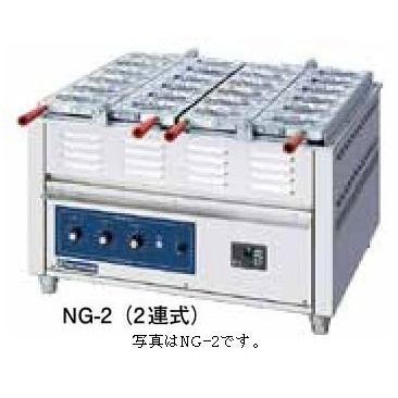 電気重ね合わせ式 焼物機(たい焼き・たこ焼き・今川焼) NG-3(3連式) たこ焼