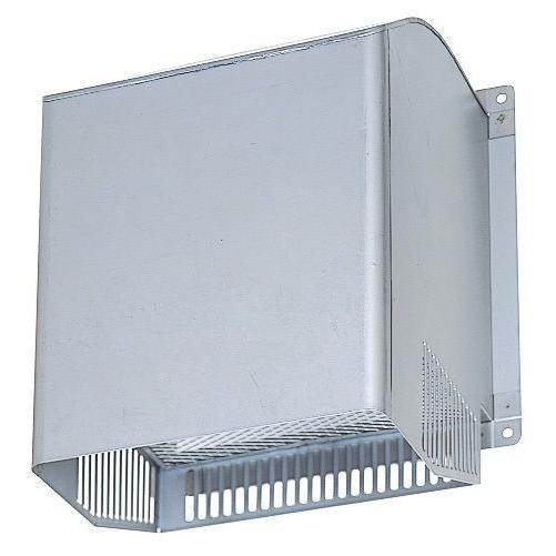 業務用有圧換気扇用 給排気形ウェザーカバー PS-20CSD ステンレスタイプ 防火ダンパー付タイプ・一般用