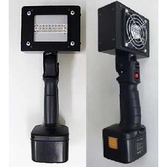 ブラックスターハンディーパワー標準タイプ充電器セット UV照度(395nm @10mm) 200 mW/cm2 樹脂・インク硬化用
