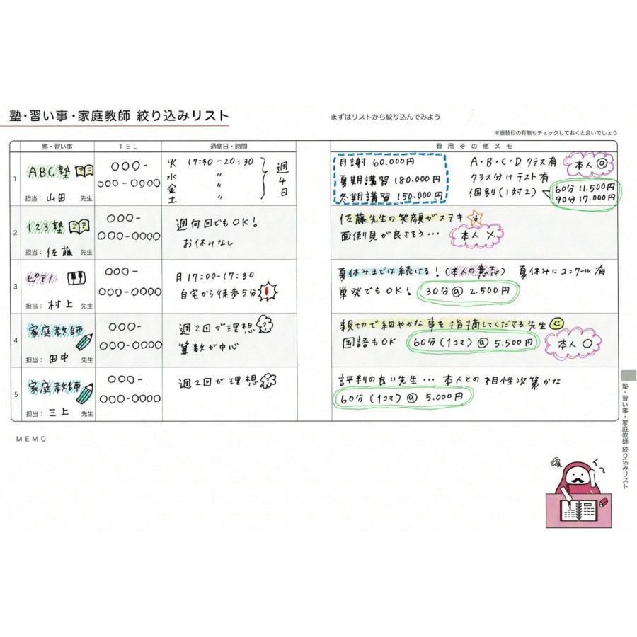 【公式】(アナログママ)analogmama 受験スケジュール帳 <2022年受験用> A5 受験 手帳 スケジュール帳  携帯 受験手帳|analogmama777|09