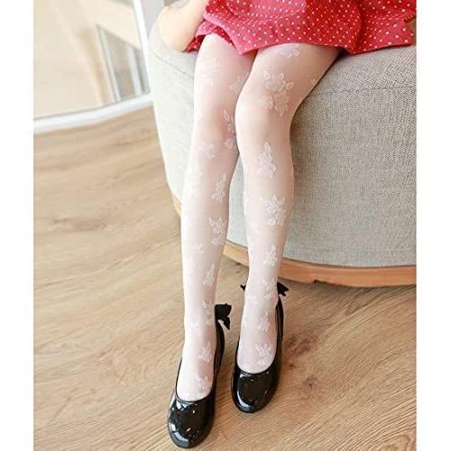 (フォーペンド)Forpend タイツ ストッキング 女の子 子供ドレス用 子ども用フォーマルタイツ 靴下 (ホワイト M)|anarisu|02