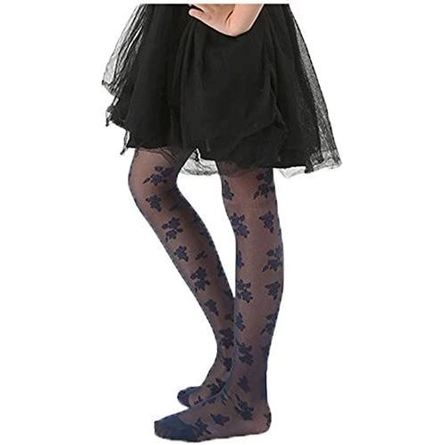 (フォーペンド)Forpend タイツ ストッキング 女の子 子供ドレス用 子ども用フォーマルタイツ 靴下 AC12 (ネイビー S)|anarisu