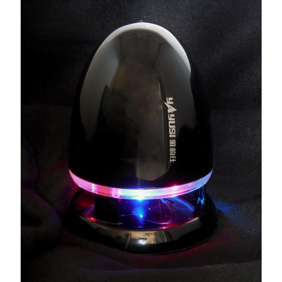 スピーカー 砲弾型ポータブル ブラック PCスピーカー USB・ステレオミニプラグ スピーカー パソコン スピーカー スマートフォン|ancello|02