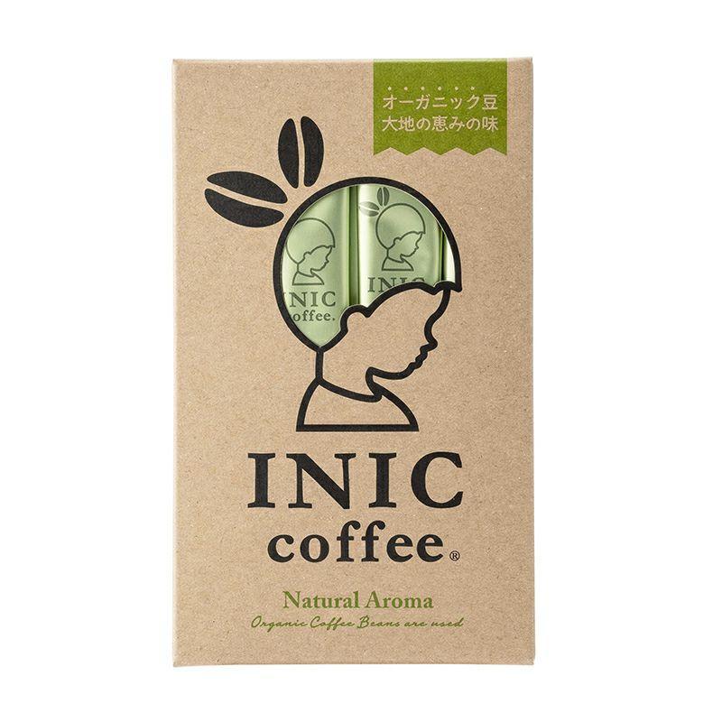 インスタントコーヒー オーガニックアロマ スティック 12本 イニックコーヒー INIC coffee and-clinic