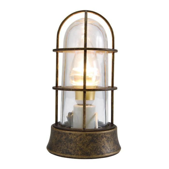 屋外照明 玄関照明 玄関 照明 門柱灯 門灯 外灯 屋外 LED マリンランプ BH1000SLIM AN CL LE 5W 古色 壁面 天井 床面 真鍮製 照明器具