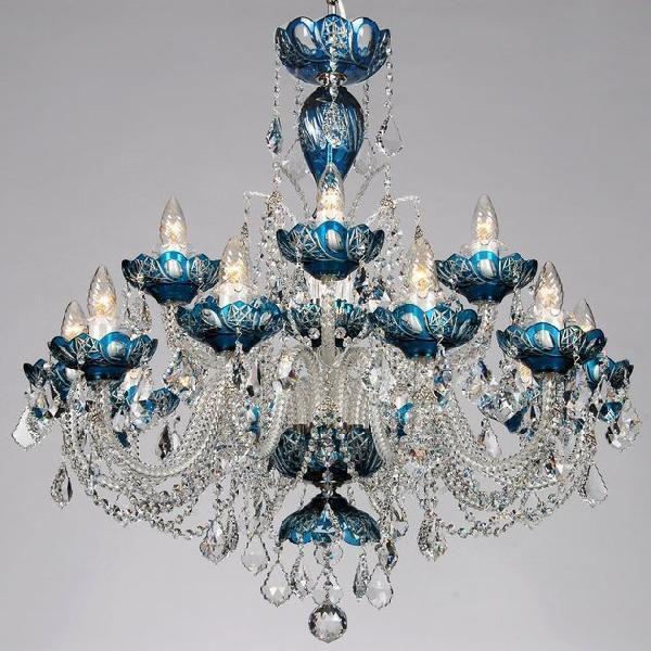 シャンデリア CH−15GA−ブルー/15灯