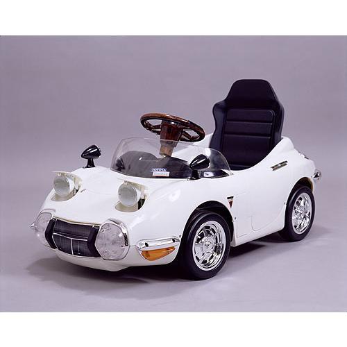 ペダルカー:2000GT ホワイト