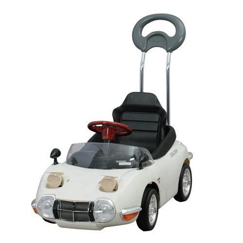 ペダルカー:押手付 2000GT ホワイト