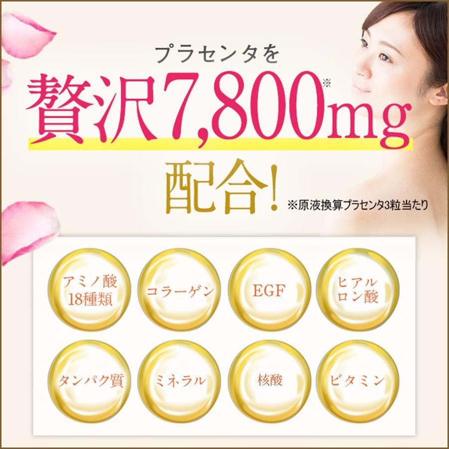 高品質 プラセンタ サプリメント Plange プランジュ 2袋セット 美肌 美容サプリ 公式 送料無料 乳酸菌 コラーゲン ヒアルロン酸 ビタミンE 30日分 日本製 ange-selectshop1 05