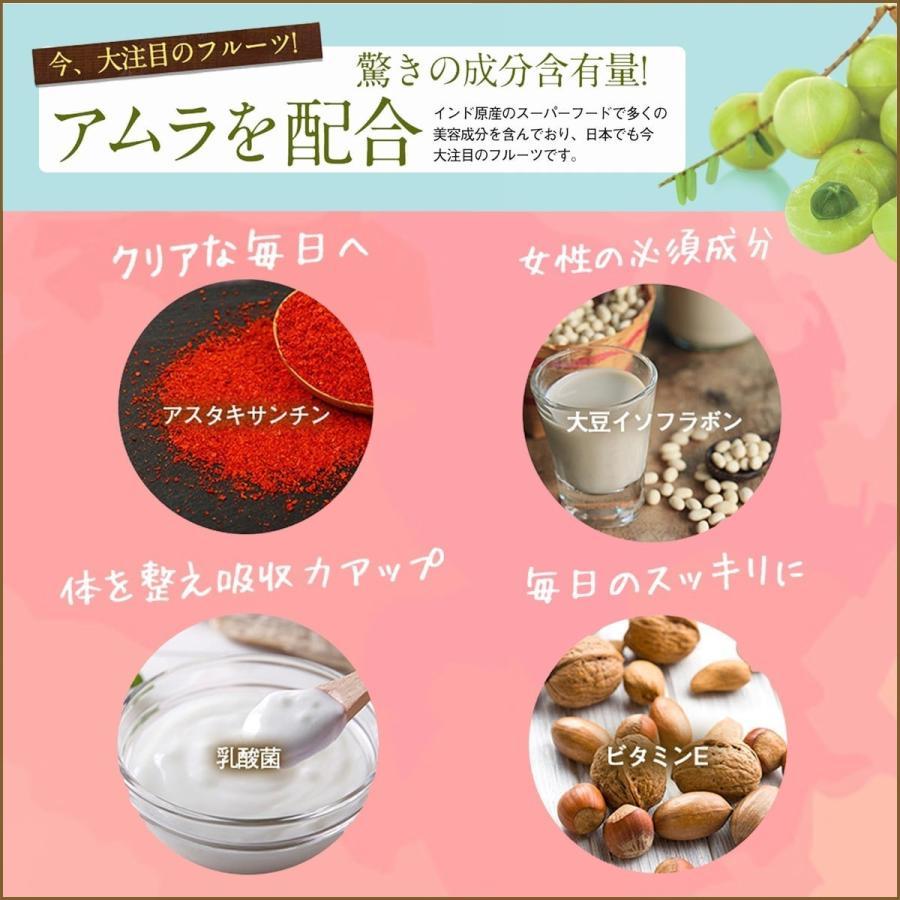 高品質 プラセンタ サプリメント Plange プランジュ 3袋セット 美肌 美容サプリ 公式 送料無料 乳酸菌 コラーゲン ヒアルロン酸 ビタミンE 30日分 日本製 ange-selectshop1 07