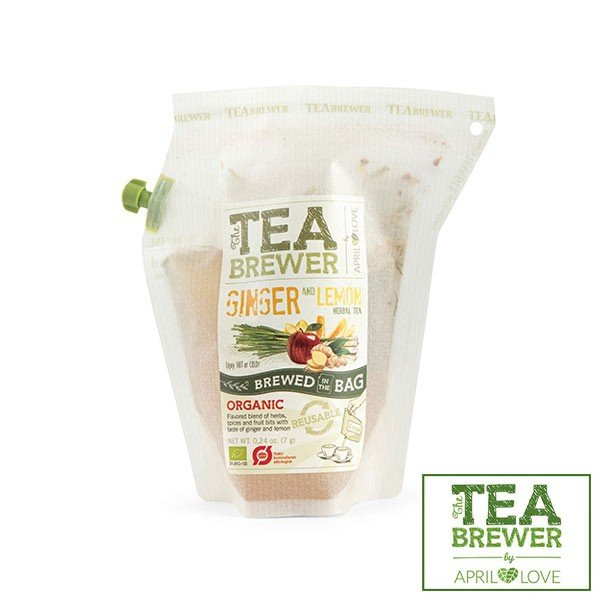 TEA BREWER(ティーブリューワー) ジンジャー&レモン A204151 7g 紅茶