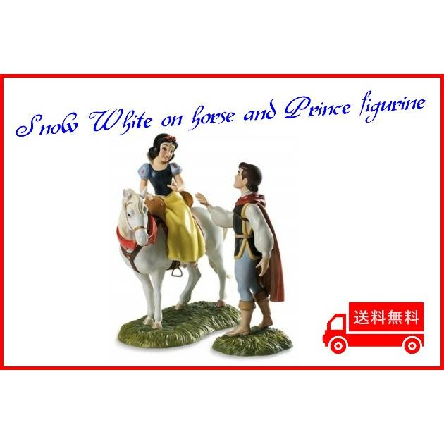 wdcc 白雪姫 彼の城に離れて我々は行きますフィギュア 置き物