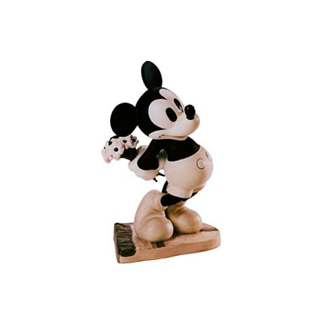 WDCC ディズニー ミッキーマウス あなたに何かを持ってきましたフィギュア 置き物