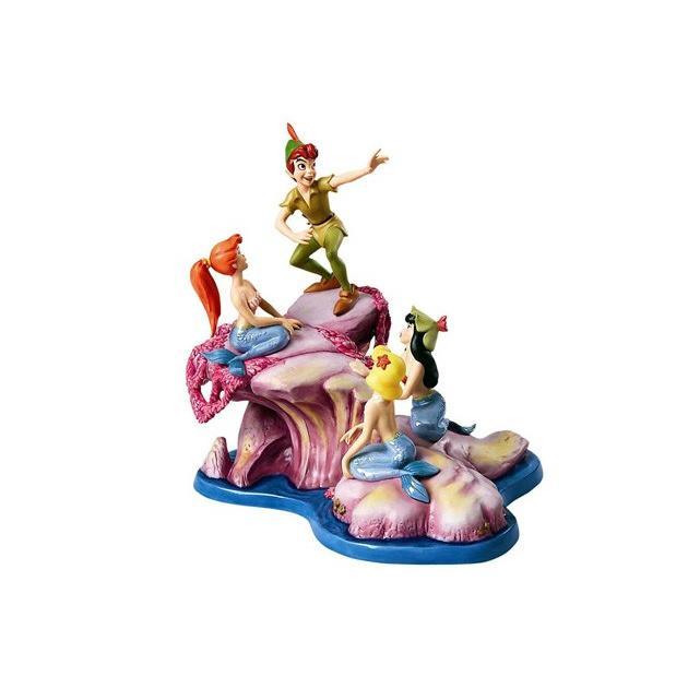ピーターパン ディズニーフィギュア wdcc 魅力的なストーリーを回す置き物