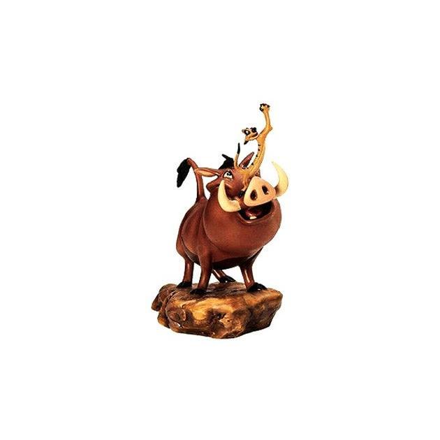 ディズニー WDCC ライオンキング 非常に面倒なプンバァとティモンフィギュア 置き物