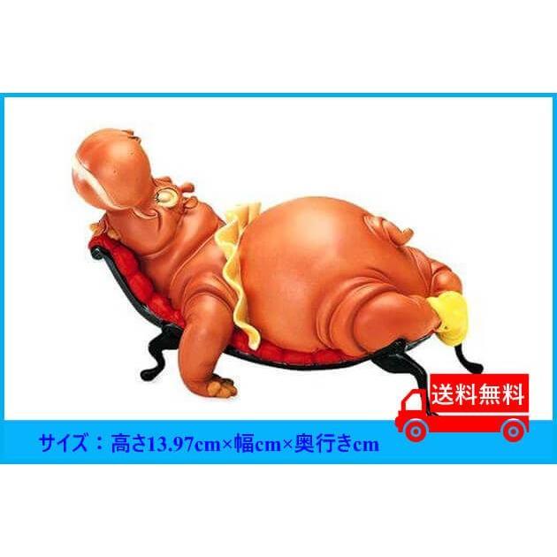 ディズニー WDCC ファンタジア ヒアシンスカバフィギュア 置き物