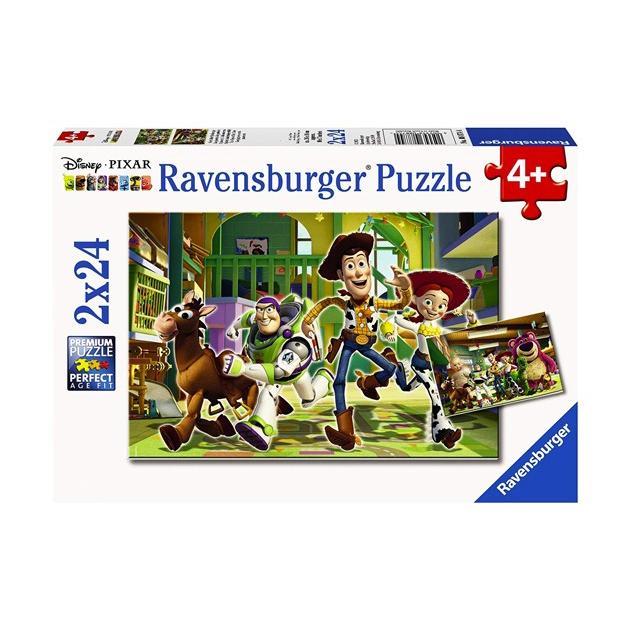 ジグソーパズル ディズニー 2×24ピース ディズニー パズル ラベンスバーガー 日のおもちゃを気にしますパズル disney_y