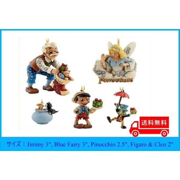 ディズニートラディションジムショア ディズニーフィギュアジムショア ピノキオ オーナーメントセット 4027932