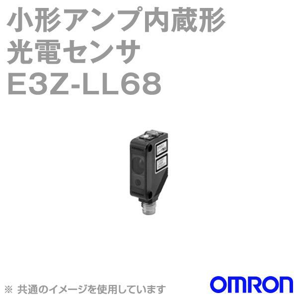 取寄 オムロン(OMRON) E3Z-LL68 レーザタイプ小型アンプ内蔵 光電センサー (距離設定形) (入/遮光時ON 切替) コネクタタイプ (NPN出力) NN