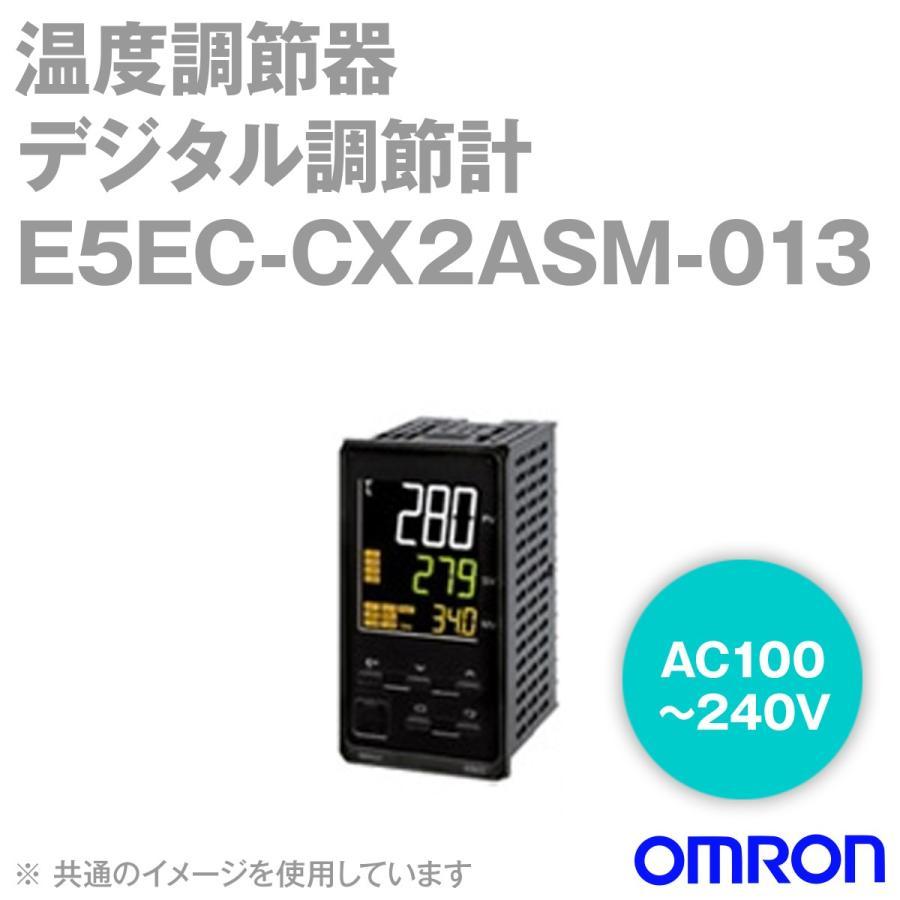 取寄 オムロン(OMRON) E5EC-CX2ASM-013 温度調節器 AC100-240V ねじ端子台タイプ E5ECシリーズ NN