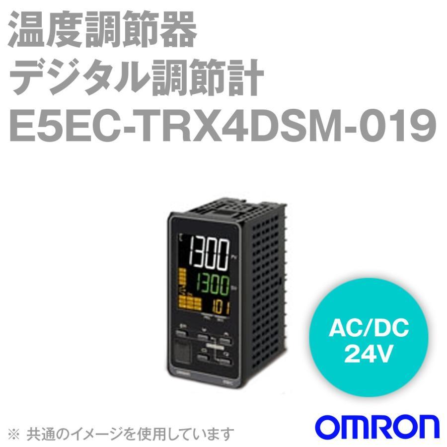 取寄 オムロン(OMRON) E5EC-TRX4DSM-019 ベーシックタイプ DIN48×96 端子台タイプ (リレー出力) (AC/DC24V) NN