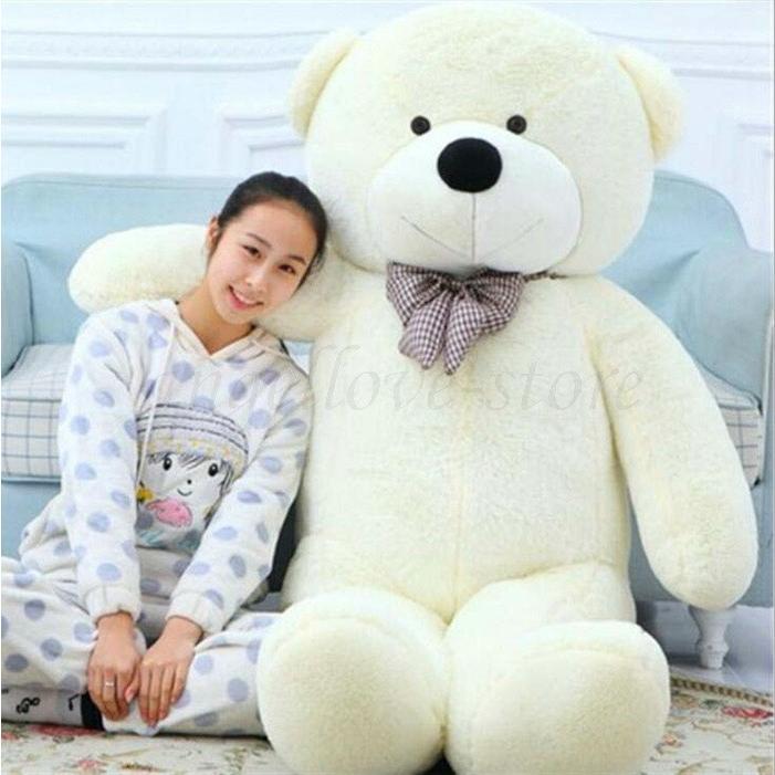 超特大 くま ぬいぐるみ 200cm 2M クマ 熊 テディベアー 大きいクマ抱き枕 ふわふわぬいぐるみ バレンタイン お祝いプレゼント