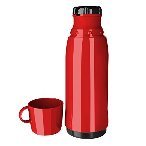 Emsa Rocket Thermos Can With Cup 0.75 L Red