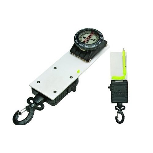 Compass Slate with Gripper Jr. Retractor - Practical! by Innovative Scuba