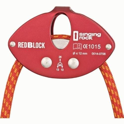 シンギングロック singing rock レッドブロック SR0763