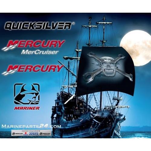 PULLEY (BLACK) ** by MERCURY/QUICKSILVER