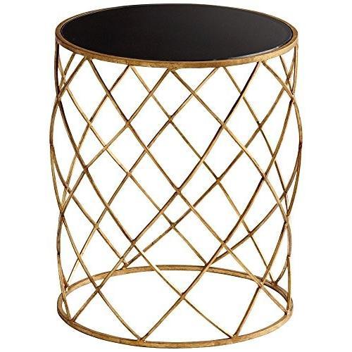 シアンデザイン05466*Wimbley Sideテーブル、 ゴールド 05466