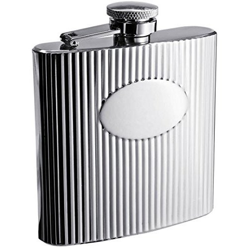 Visol VF1164 The Regal Stainless Steel 6oz Hip Flask