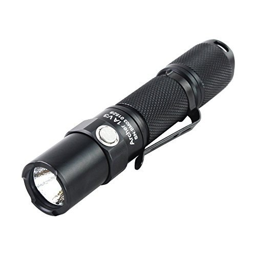 ThruNite Archer 1A V3 200 Lumens Reliable AA Flashlight,Neutral 白い by
