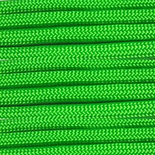 ソリッドカラーパラコード550ポンド引張強度でツイスト内側の選択肢の7ストランド取り外し可能でコアパラシュートコード10、25、50、&