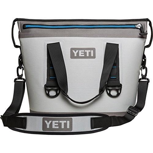 Yeti(イエティ) Hopper (ホッパー) Cooler 持ち運び簡単 クーラー BOX 日本未発売 Fog Gray/Tahoe Blue