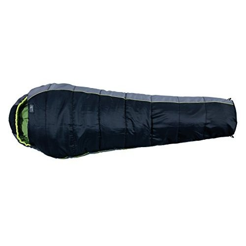 Easy Camp Orbit 200 Mummy Sleeping Bag - Black/Grey