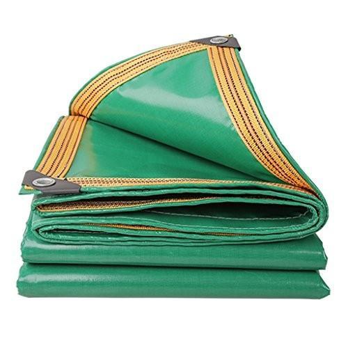 LWHY 350G/m*キャン**バス釣りガーデニング用グリーンキャンバスターポリンシートタルプ多機能ポンチョ (サイズ さいず : 6x8m)