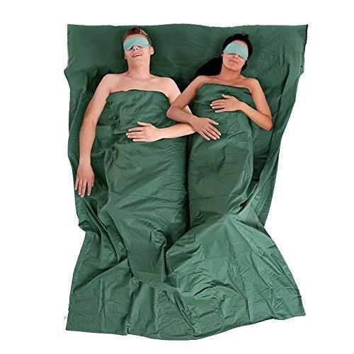 Natruehike 2人用 2人用 2人用 薄手 寝袋 アウトドア 旅行 寝袋 ライナー キャンプ コットン 寝袋 裏地 886