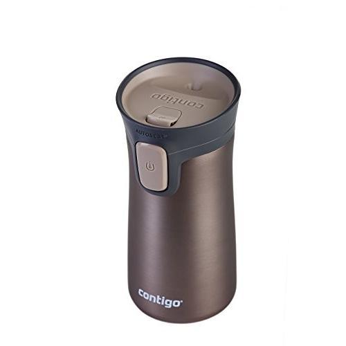 (300 ml, Brown) - Contigo Pinnacle Thermal Mug-Pink, 300 ml