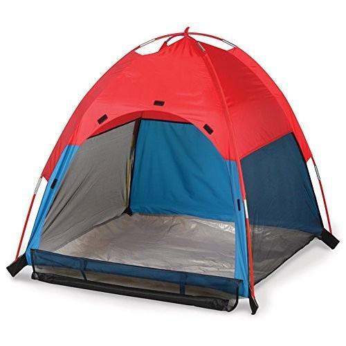 [ノーブランド品] UVカット加工 撥水加工 テント 3人用 マルチカラー
