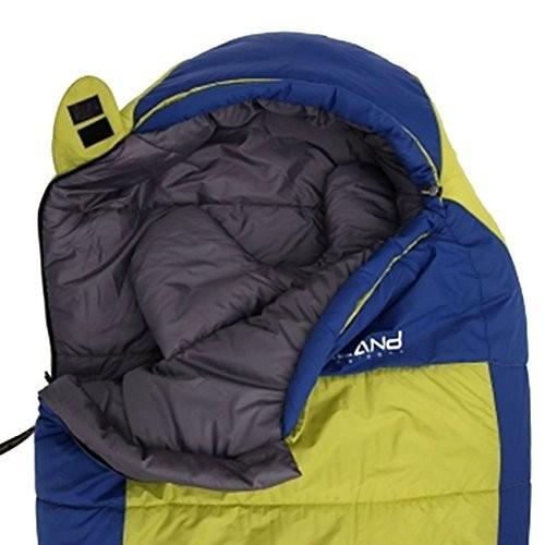 PURELAND 腹部寝袋 圧縮袋付き アウトドア キャンプ ハイキング 旅行用 3シーズン暖かくて快適 - Dora 250