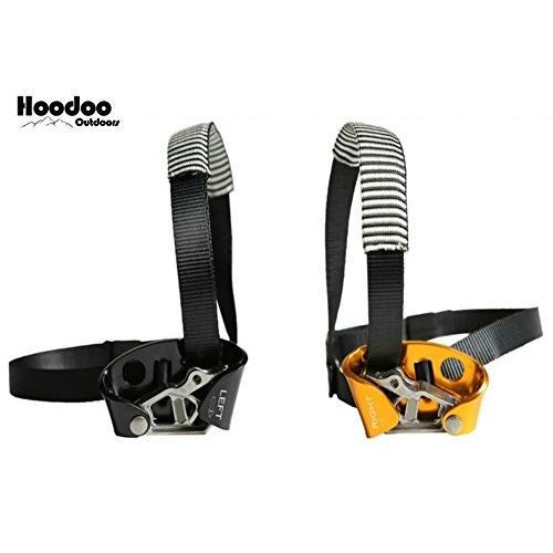 Hoodoo アウトドアフットクライミングアセンダー ロッククライミング 登山機器 登山機器 ハイキング キャンプ