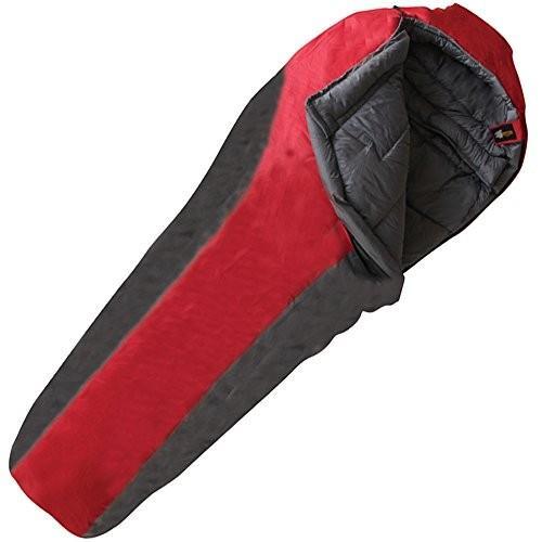 春夏新作モデル Frontier 0度 中型サイズ 寝袋 レッド, ウトグン c5793309