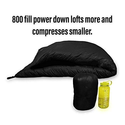 ハンモックタイプの寝袋多機能分離可能な長方形のキャンプ用冬暖かい防水フード付きエアコットンの寝袋、185 * 70cm