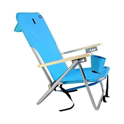 ビーチ&キャンプアウトドア椅子バックパック4位置ultra-resistantスチールby Copa (アソートカラー)